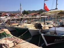 Moored boats 2