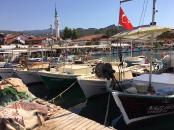 Moored boats 2
