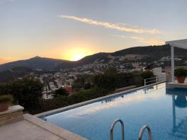 Pool & sunset