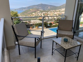 Balcony with Kalkan view
