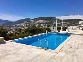 Pool overlooking Kalkan