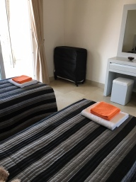Twin room (with folding bed)